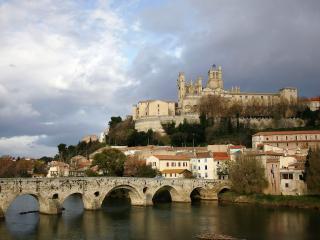 обои Замок и мостик фото
