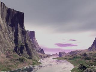 обои Mystery river фото