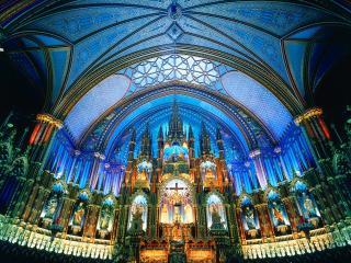обои Notre Dame Basilica, Montreal, Canada фото