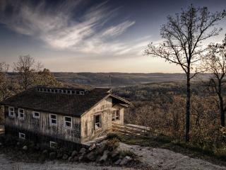 обои Заброшенный дом фото