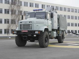 обои Автомобиль МЧС на шасси КРАЗ 5233 фото