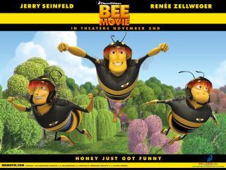 обои Пчелы из Bee Movie фото