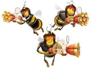 """обои Пчелы из """"Би Муви: Медовый заговор"""" фото"""