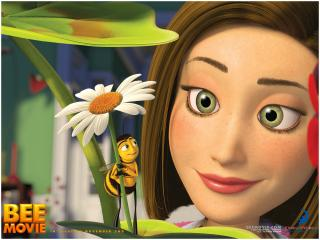 обои BEE MOVIE ванесса фото