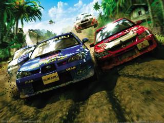 обои Sega Rally Revo фото