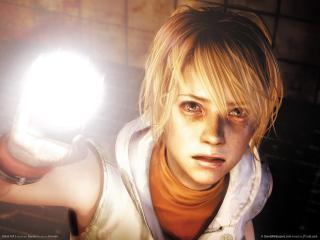 обои Героиня игры Silent Hill 3 с фонарем фото