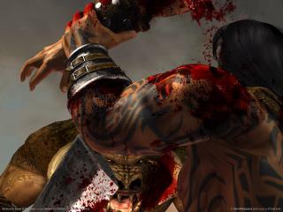 обои Кровавая битва в игре Severace: Blade of Darkness фото
