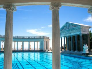 обои Hearst Castle Pool фото