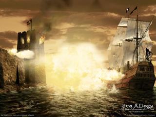 обои Sea Dogs - корабли фото