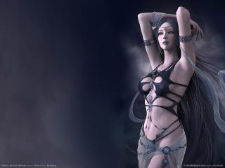 обои Shaiya: Light and Darkness - девушка фото