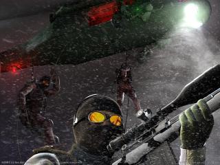 обои SOCOM - с оружием фото