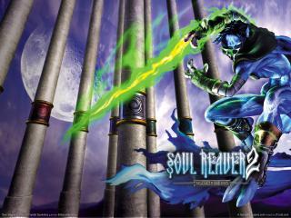 обои Soul Reaver 2 - зеленый меч фото
