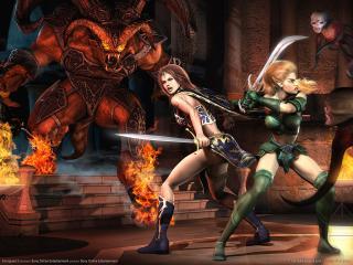 обои Everquest 2 - бой фото