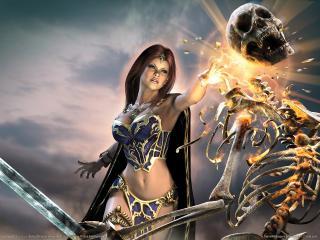 обои Everquest 2 - победа фото