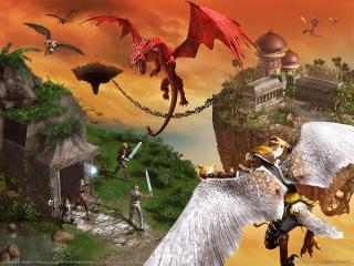 обои Everquest 2 - драконы фото