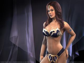 обои Everquest 2 - девушка фото