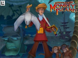 обои Escape from Monkey Island фото
