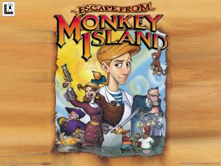 обои Escape from Monkey Island - игра фото