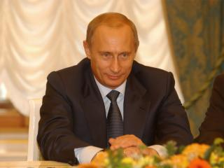 обои Путин на форуме фото
