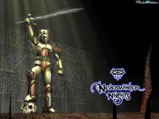 обои Neverwinter Nights - воин фото