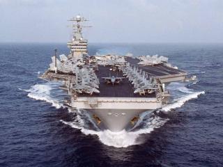 обои USS Dwight D. Eisenhower фото