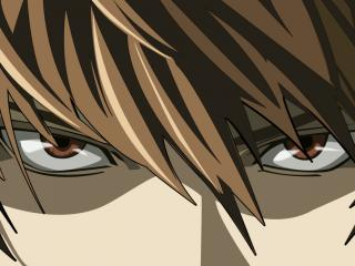 обои Yagami Light Death Note фото