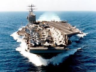 обои USS George Washington фото