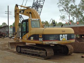 обои Caterpillar 320C Excavator фото