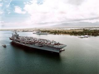обои USS John C. Stennis фото