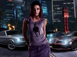 обои Need for Speed: Carbon - девушка фото
