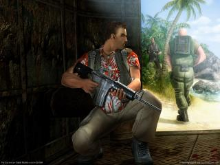 обои Far Cry - приготовился фото