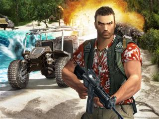 обои Far Cry - с оружием фото