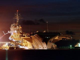 обои USS Kitty Hawk фото