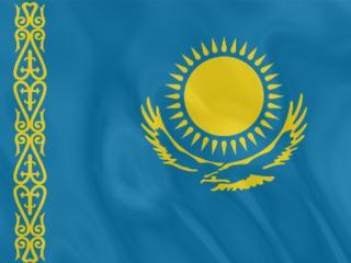 обои Флаг Казахстана фото