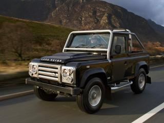 обои Land Rover Defender SVX фото