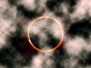 обои Затмение солнца фото