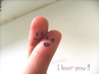 обои Влюбленные пальчики фото