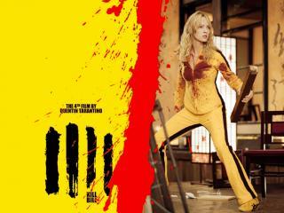 обои Kill Bill. героиня готова к бою фото