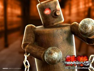 обои Tekken 5 - робот фото