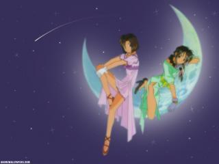 обои Вы арестованы - девушки на луне фото
