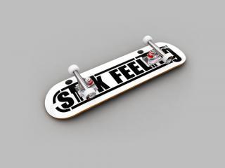 обои 3d Скейт фото