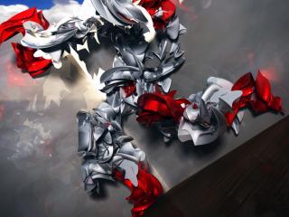 обои Железный робот фото