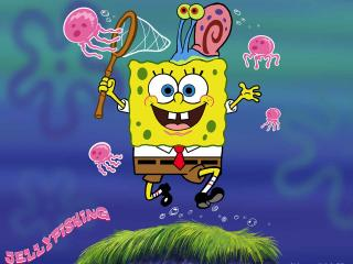 обои Ловец медуз фото