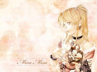 обои Death-Note - блондинка фото