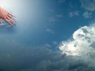 обои Прикосновение к небу фото