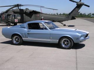 обои Shelby Mustang GT500 1967 фото