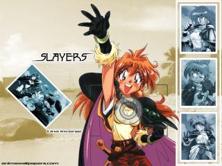 обои Рубаки(Slayers) - передает привет фото