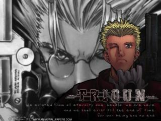 обои Триган (Trigun) - парень фото