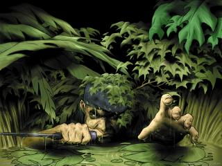 обои Commandos 2 - Разведка фото