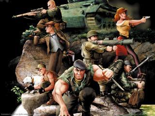 обои Commandos 2 - Спецподразделение фото